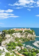 Monaco Mediterranean sea French riviera blue sky