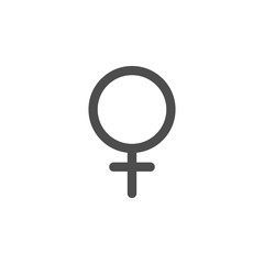 female sign icon. Elements of web icon. Premium quality graphic design icon. Signs and symbols collection icon for websites, web design, mobile app