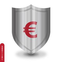 Shield Icon - Euro Dollar