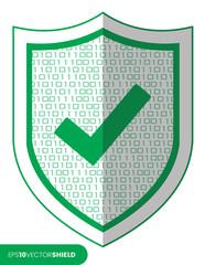Shield Icon - Check/Tick