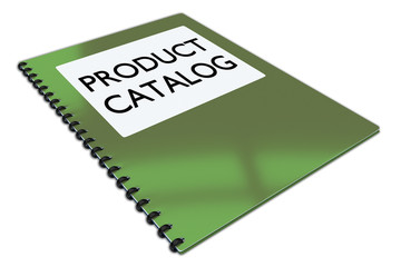 PRODUCT CATALOG concept