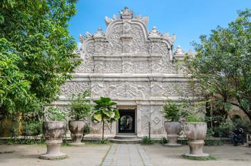 Ancient pool at taman sari water castle  Yogyakarta, Java, Indonesia.
