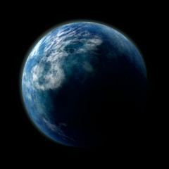 planeth earth from space