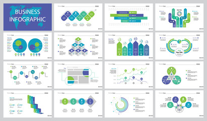 Finance Project Slide Templates Set