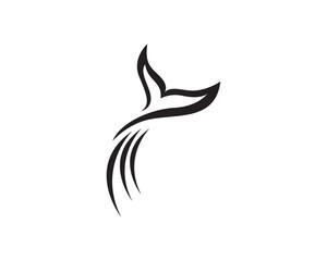 Dolphin fish logo and symbols animals