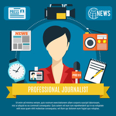 Professional Journalist Background