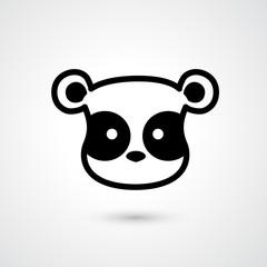 Tiger head icon vector