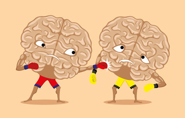 Battle of brains.