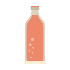 Soda in bottle icon vector illustration graphic design