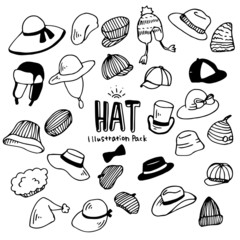 Hat Illustration Pack