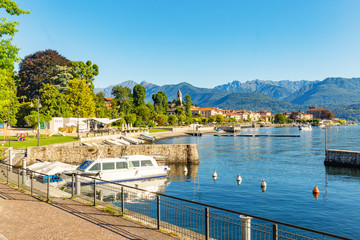 Baveno near at Stresa, on Lake Maggiore, Italy.