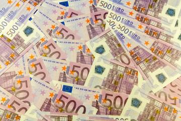 fond billets de 500 euros