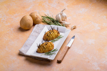 oven potatoes rosemary filled