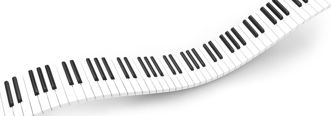 clavier piano synthétiseur onde