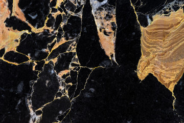 black and gold marble texture pattern with luxury structure