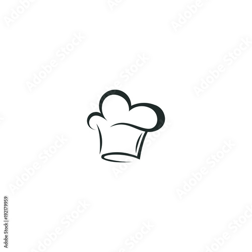 chef hat logo vector abstract template download stock image and