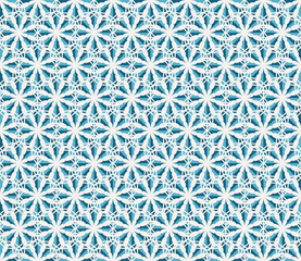 Vector Hexagonal Geometric Pattern