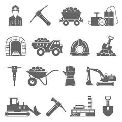 Black Icons - Mining