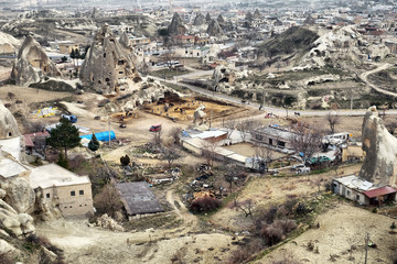 Goreme is a famous Cappadocian city in Turkey
