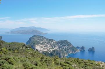 The Faraglioni Rocks of Capri - Italy