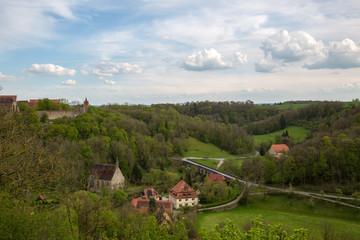 Rothenburg ob der Tauber Schlossgarten