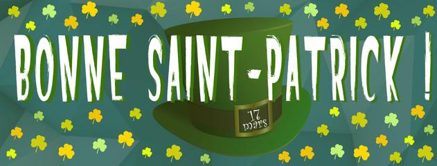 Bonne St Patrick 17 mars