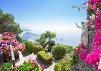 Capri island, Italy Fototapete