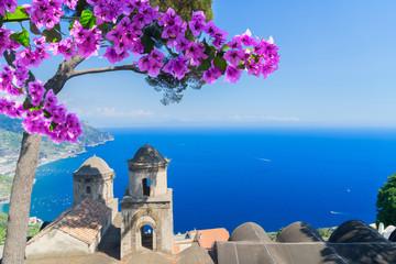Ravello village, Amalfi coast of Italy Fototapete