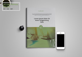 Green and Gray Annual Report Layout 1