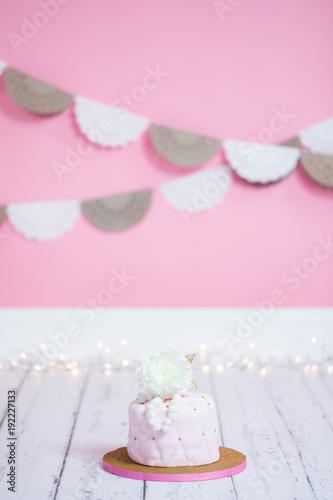 Girls Princess Birthday Cake