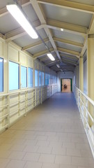 Foto op Aluminium Trappen Corsia di ospedale