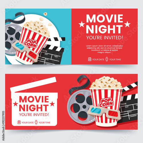 what do you need for a movie night