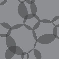 grey circle transparent pattern- vector illustration