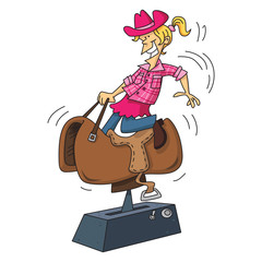 Cow Girl Rides
