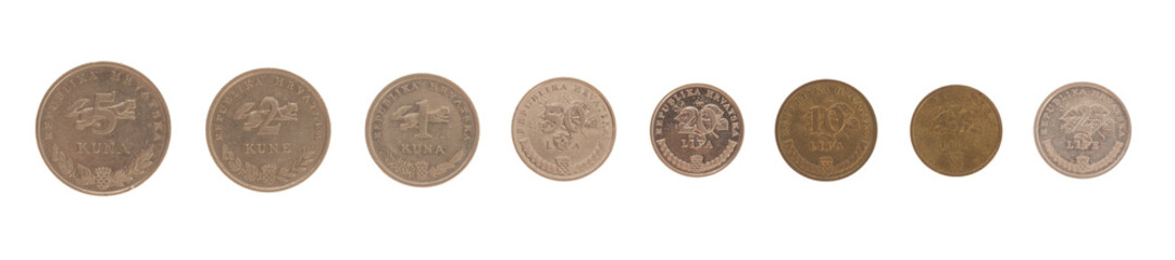 Croatian Coins - Kuna and Lipa