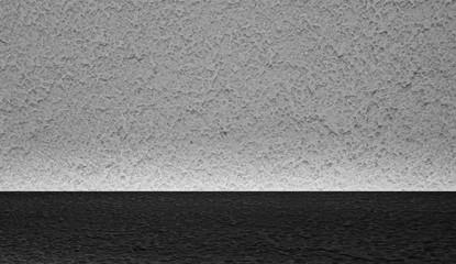 Kamienna ściana z ciemnym podłożem