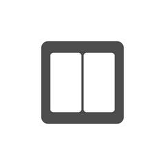 light switch icon. Elements of web icon. Premium quality graphic design icon. Signs and symbols collection icon for websites, web design, mobile app