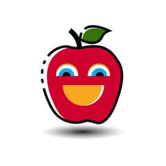 happy fruit logo