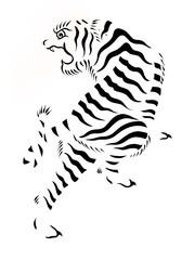 Strisce tigre
