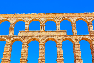 Aqueduct of Segovia (or more precisely, the aqueduct bridge) is