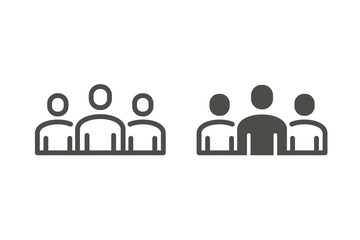 People vector icon.