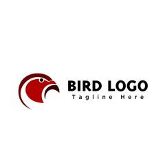 abstract bird eagle head  logo