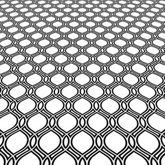 Modern black and white pattern. Geometric abstract texture. Graphic geometric background