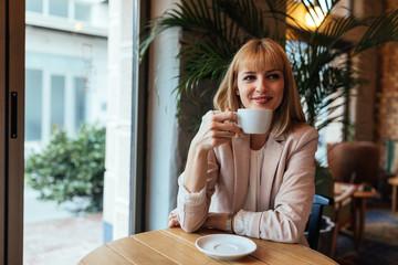 It's hard not to be happy on a coffee break