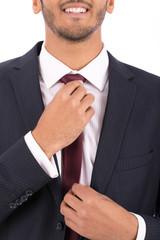closeup shof for a tie