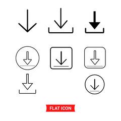 Install icon set , Download symbol.