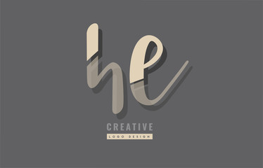 Design of logo with grey background color suitable as an icon for a company or business