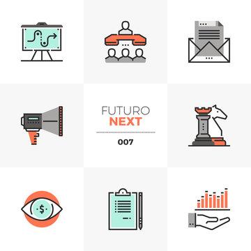 Market Strategy Futuro Next Icons