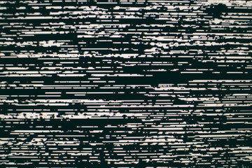 Analog Static Screen Background