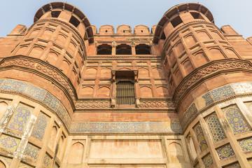 entry gate of the Agra Fort, Agra, Uttar Pradesh, India